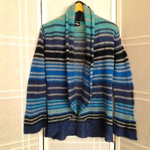 Wooden ships blue stripped cardigan …
